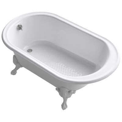 Iron Works 66 x 36 Soaking Bathtub Finish: White