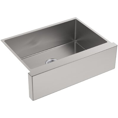 Strive 29.5 x 21.25 Self-Trimming Undermount Medium Single-Bowl Kitchen Sink