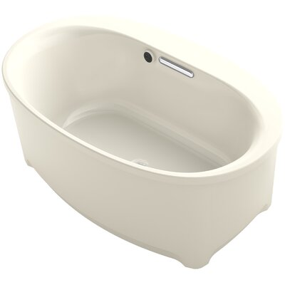 Underscore 60 x 36 Soaking Bathtub Finish: Almond