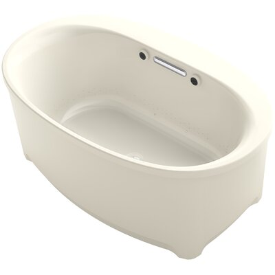 Underscore Oval Freestanding BubbleMassage� Air Bath Finish: Almond