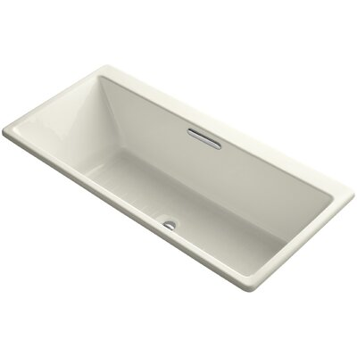 Reve 67 x 36 Soaking Bathtub Finish: Biscuit