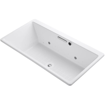 Reve 67 x 36 Air Bathtub Finish: White, Jet Finish: White