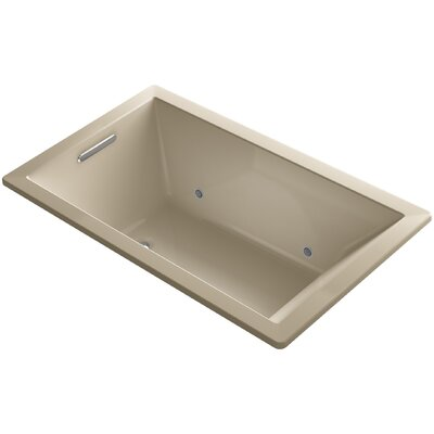 Underscore 60 x 36 Air Bathtub Finish: Mexican Sand