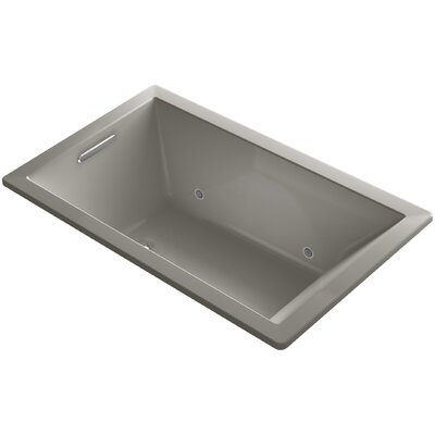 Underscore 60 x 36 Air Bathtub Finish: Cashmere
