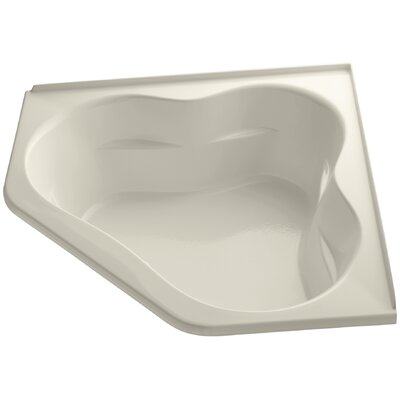 Tercet Bubblemassage 60 x 60 Soaking Bathtub Finish: Almond