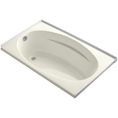 Alcove 60 x 36 Soaking Bathtub Finish: Biscuit