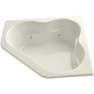 Tercet 60 x 60 Air / Whirlpool Bathtub Finish: Biscuit