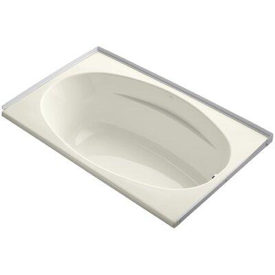 Alcove 60 x 36 Soaking Bathtub Finish: Biscuit