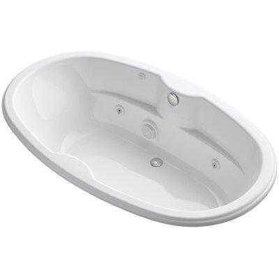 Proflex 72 x 42 Whirlpool Bathtub Finish: White