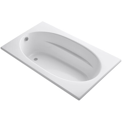 Windward 72 x 42 Soaking Bathtub Finish: White