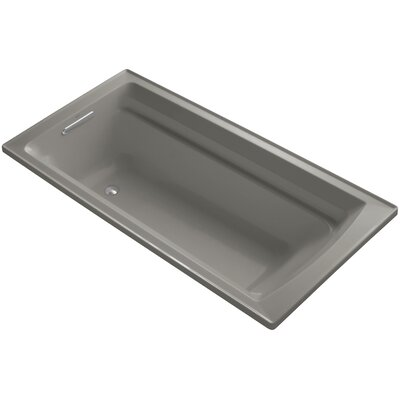 Archer 72 x 36 Soaking Bathtub Finish: Cashmere