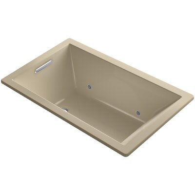Underscore 60 x 36 Soaking Bathtub Finish: Mexican Sand