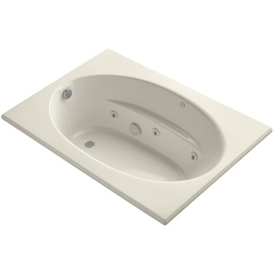 Windward 60 x 42 Whirlpool Bathtub Finish: Almond
