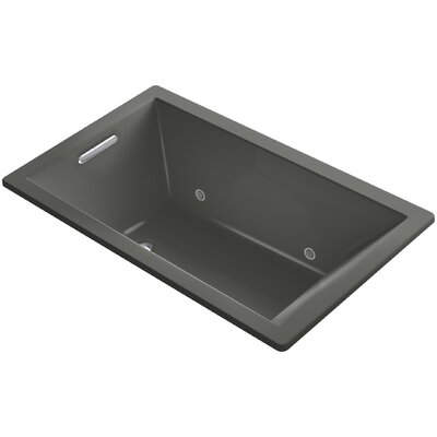 Underscore 60 x 36 Soaking Bathtub Finish: Thunder Grey