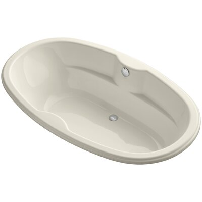 Proflex 72 x 43 Soaking Bathtub Finish: Almond