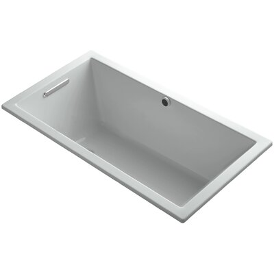 Underscore 60 x 32 Soaking Bathtub Finish: Ice Grey