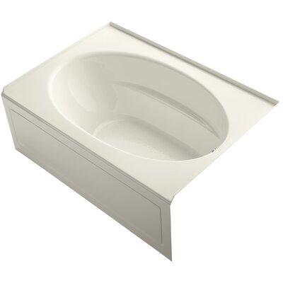 Windward 60 x 42 Soaking Bathtub Finish: Biscuit