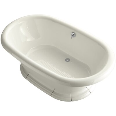 Vintage 72 x 42 Soaking Bathtub Finish: Biscuit