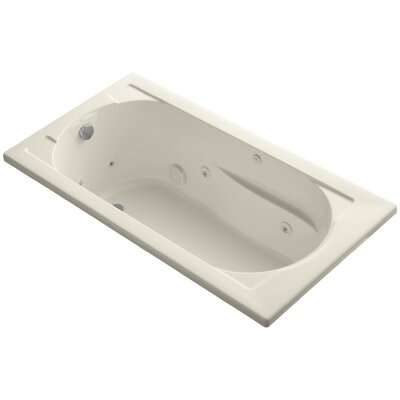 Devonshire 60 x 32 Whirlpool Bathtub Finish: Biscuit