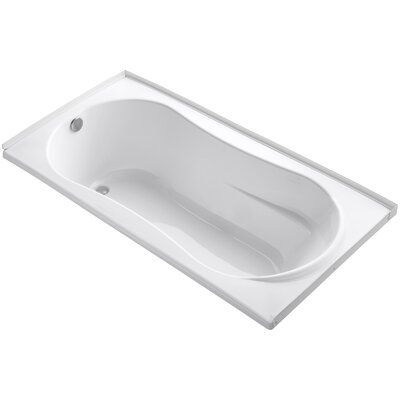 Proflex 72 x 36 Soaking Bathtub Finish: White