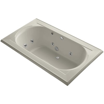 Memoirs 72 x 42 Whirlpool Bathtub Finish: Sandbar