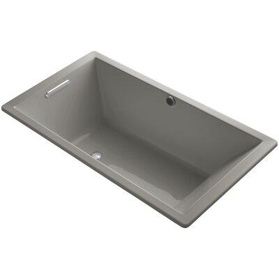 Underscore 66 x 36 Soaking Bathtub Finish: Cashmere
