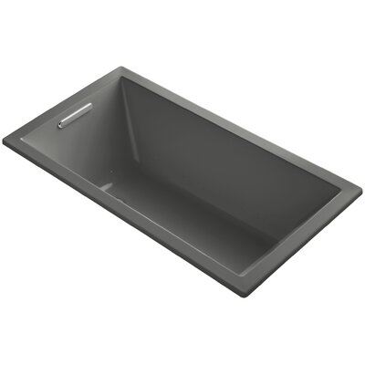 Underscore 60 x 32 Air Bathtub Finish: Thunder Grey