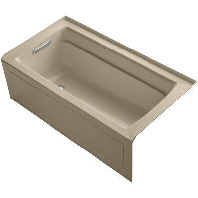 Archer 60 x 32 Air Bathtub Finish: Mexican Sand, Drain Location: Left