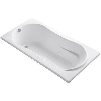 Proflex 72 x 36 Soaking Bathtub Finish: White