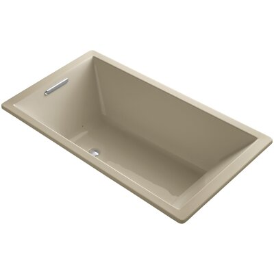 Underscore 66 x 36 Air Bathtub Finish: Mexican Sand