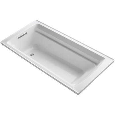 Archer 72 x 36 Soaking Bathtub Finish: White