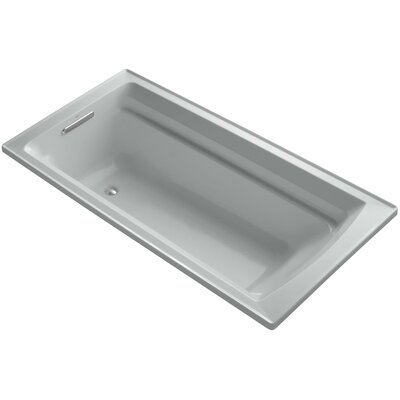 Archer 72 x 36 Soaking Bathtub Finish: Ice Grey