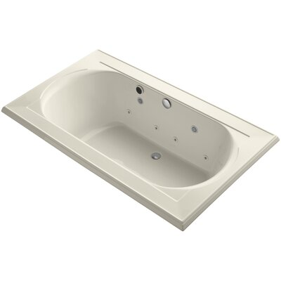 Memoirs 72 x 42 Whirlpool Bathtub Finish: Almond