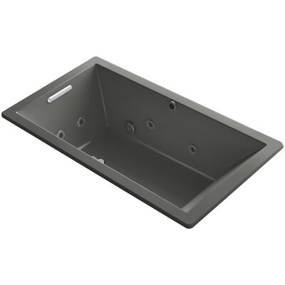 Underscore 66 x 36 Air / Whirlpool Bathtub Finish: Thunder Grey
