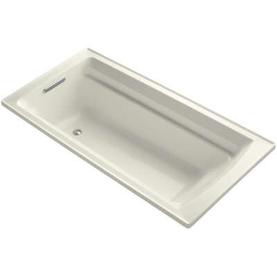 Archer 72 x 36 Soaking Bathtub Finish: Biscuit