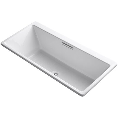 Reve 67 x 36 Soaking Bathtub Finish: White