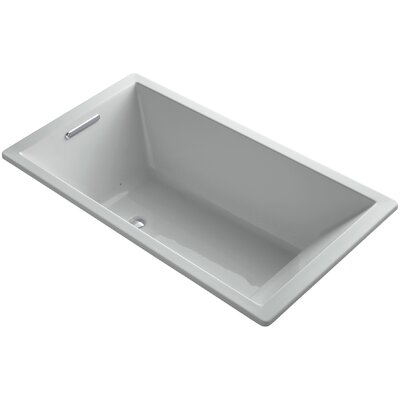 Underscore 66 x 36 Air Bathtub Finish: Ice Grey