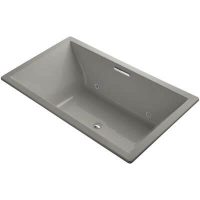 Underscore 72 x 42 Soaking Bathtub Finish: Cashmere