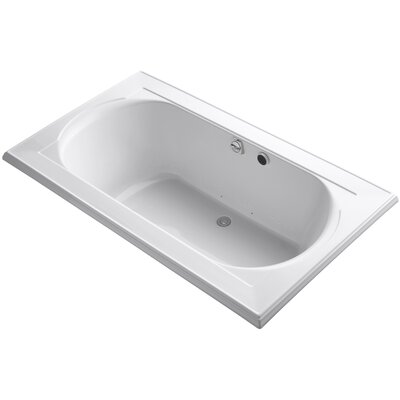 Memoirs Bubblemassage 72 x 42 Soaking Bathtub Finish: White