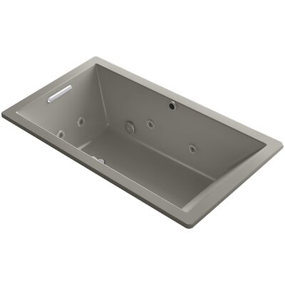 Underscore 66 x 36 Air / Whirlpool Bathtub Finish: Cashmere