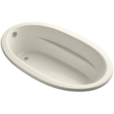 Sunward Drop-In Bath with Bask� Heated Surface Finish: Almond