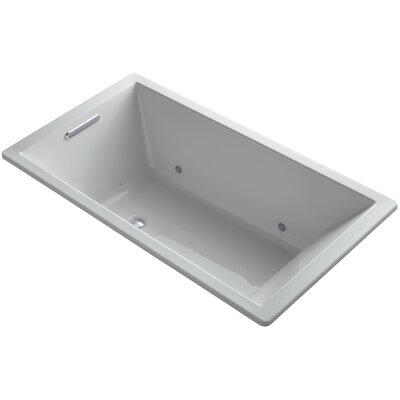 Underscore 66 x 36 Air Bathtub Finish: Ice Grey