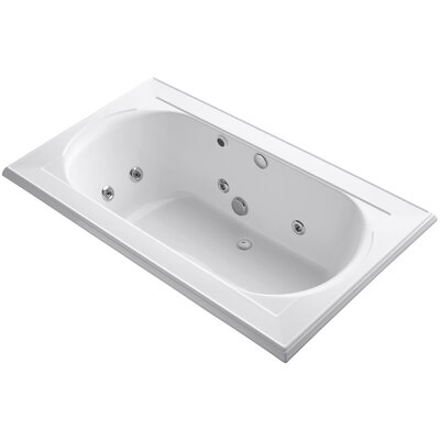 Memoirs 72 x 42 Whirlpool Bathtub Finish: White