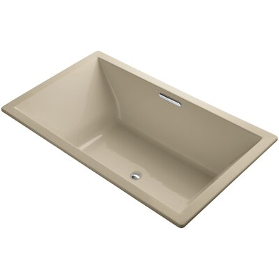 Underscore Vibracoustic 72 x 42 Soaking Bathtub Finish: Mexican Sand