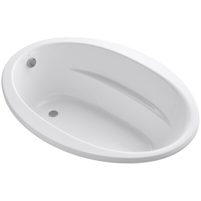 Sunward 60 x 42 Soaking Bathtub Finish: White