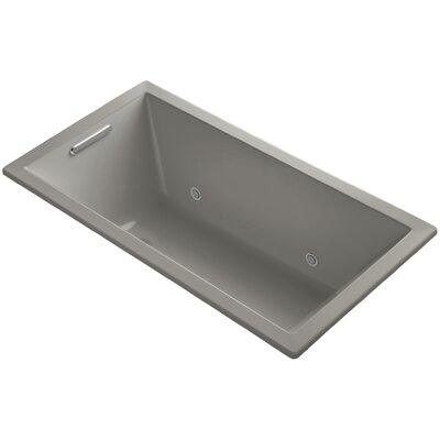 Underscore 60 x 32 Soaking Bathtub Finish: Cashmere