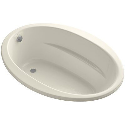 Sunward 60 x 42 Soaking Bathtub Finish: Almond
