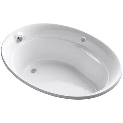 Serif 60 x 43 Air Bathtub Finish: White