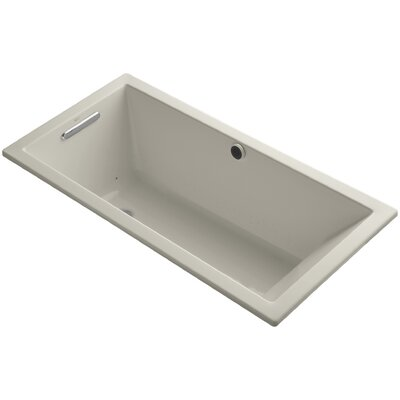 Underscore Bubblemassage 60 x 30 Soaking Bathtub Finish: Sandbar