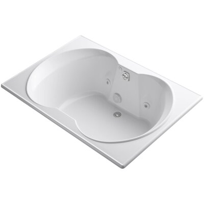 Overture 60 x 42 Air / Whirlpool Bathtub Finish: White